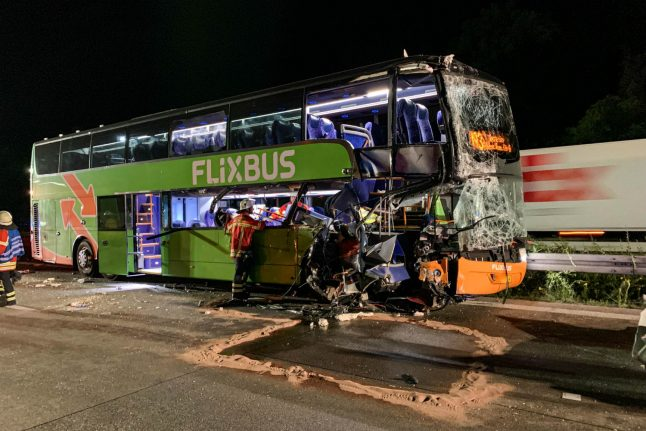Seven people injured after two Flixbus accidents in Germany