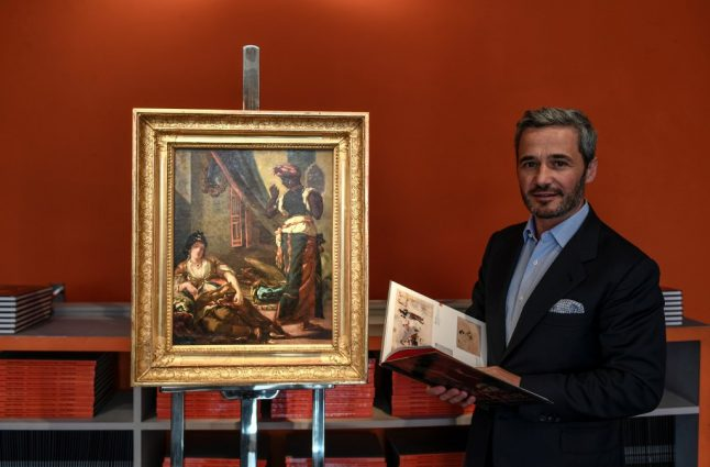 Lost version of Delacroix's 'mythic' masterpiece discovered in Paris