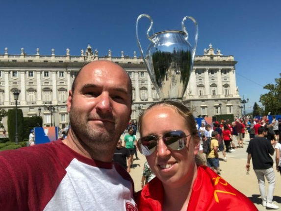 Liverpool fan to Madrid taxi driver: 'You've restored my faith in humanity'