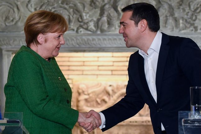 Update: Germany rejects new Greek demand for war payments