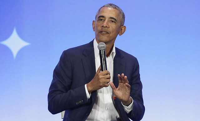 Obama is in Stockholm – but good luck getting a chance to meet him