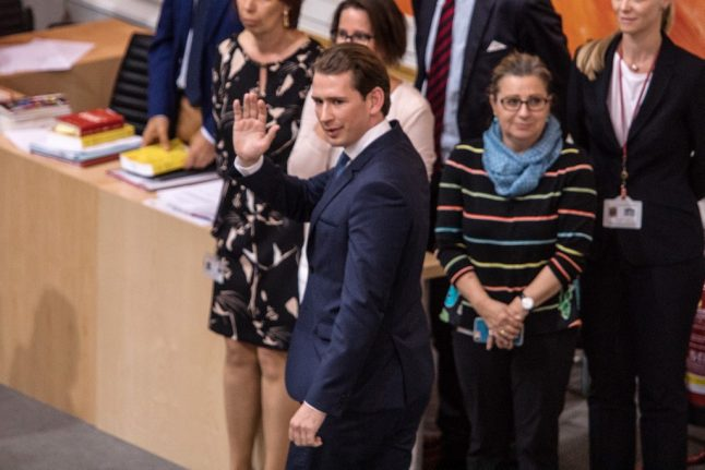 Austria set for early elections on September 29