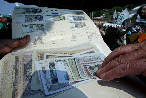 The lira is still being used in Italy – by the mafia