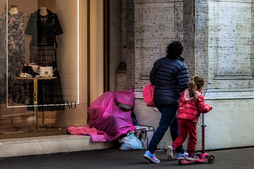Five million people are still living in 'absolute' poverty in Italy