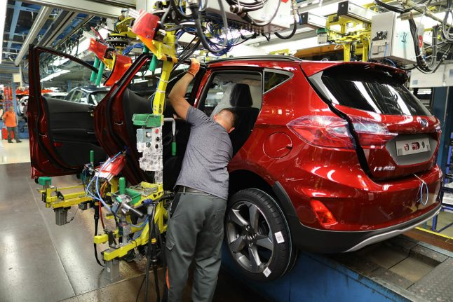 Nearly half of Ford's European job cuts will be in Germany