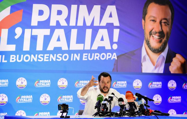 Salvini vows not to yield to Brussels in Italy budget dispute