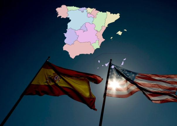 MAP: Where in Spain do all the Americans live?