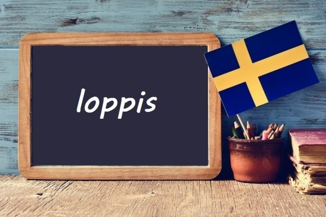 Swedish word of the day: loppis