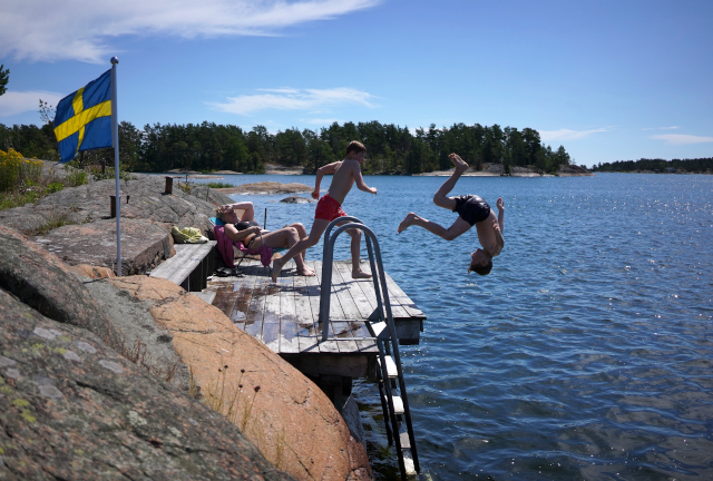 Weather LATEST: Sweden records new hottest day of the year