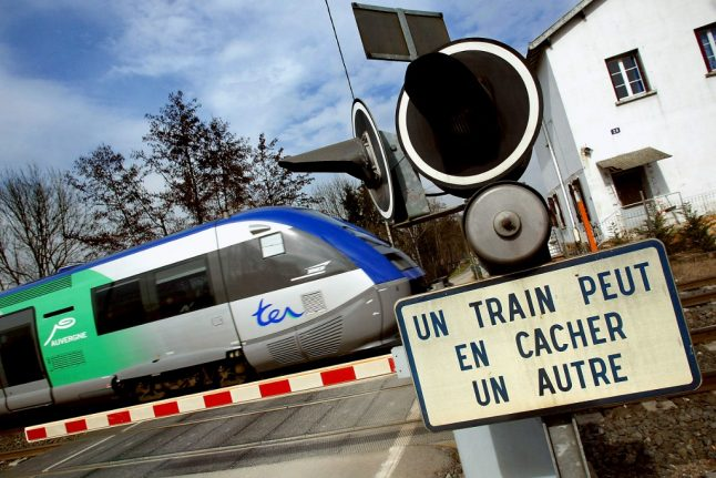 Woman and three children killed as train smashes into car at level crossing in France