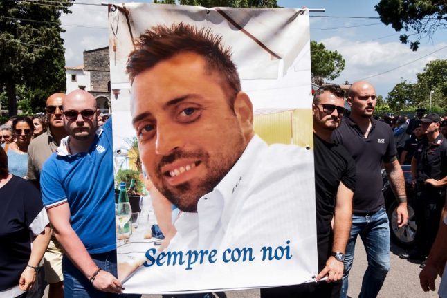 'A terrible affair which cannot go unpunished': Italy mourns murdered police officer