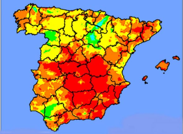 What you need to know about new heatwave scorching Spain this week
