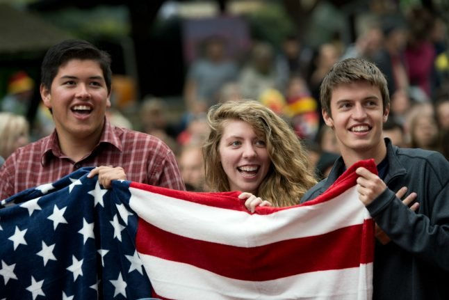 Where in Germany do all the Americans live?