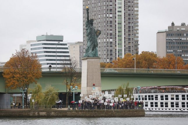 Campaign launched to fund new Statue of Liberty in Brittany