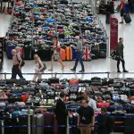 Chaos at Düsseldorf Airport as passengers forced to leave luggage behind