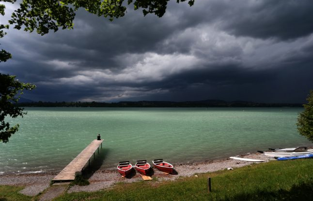 No sign of heatwave return in Germany as cooler weather continues