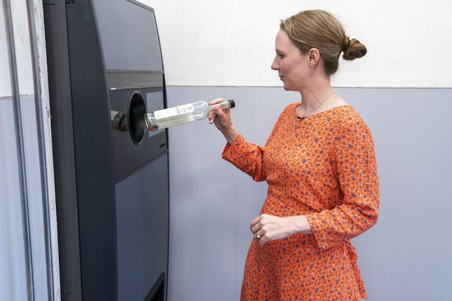 Denmark extends recycling system to juice and smoothie bottles