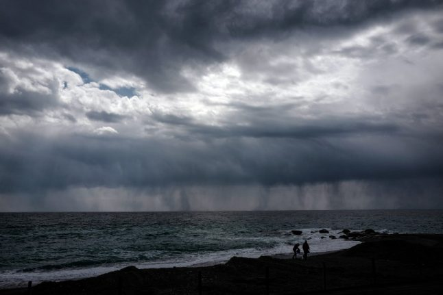 There goes the sun: Storms, hail and lightening batter Italy
