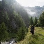 IN PHOTOS: Taking a 'Neanderthal' survival course with a modern-day caveman in Italy