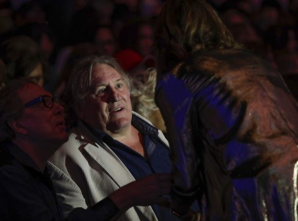Depardieu's new 'reality' project in an alcohol-free French spa
