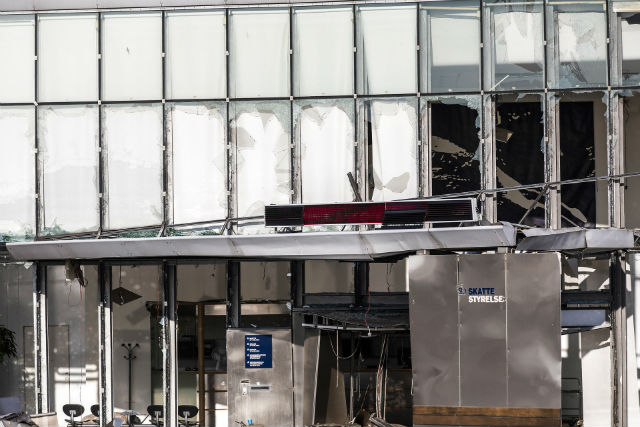 One injured after blast hits Danish Tax Agency