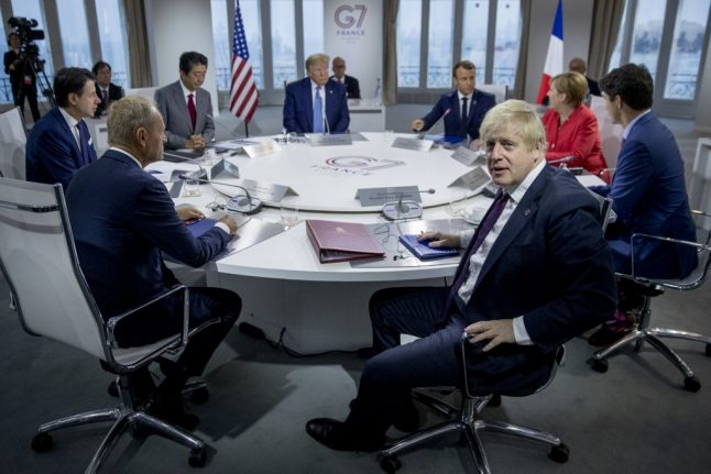 Johnson 'marginally more optimistic' about Brexit deal after G7 summit