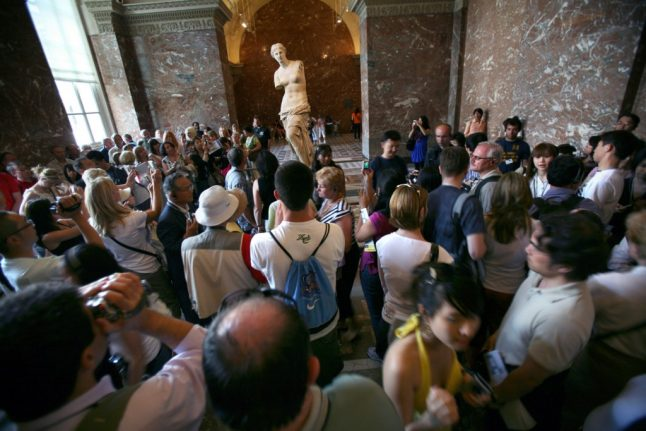 How Paris' overcrowded Louvre is struggling to cope with the tourist tide