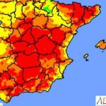 Most of Spain on alert for wildfire risk as temperatures soar