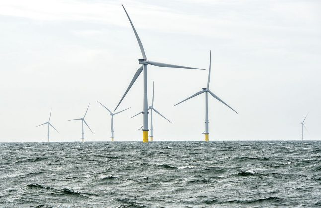 12 percent of Danish wind energy to be produced by giant new offshore farm