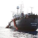 Rescued migrants in limbo as two charity ships banned from Italian waters
