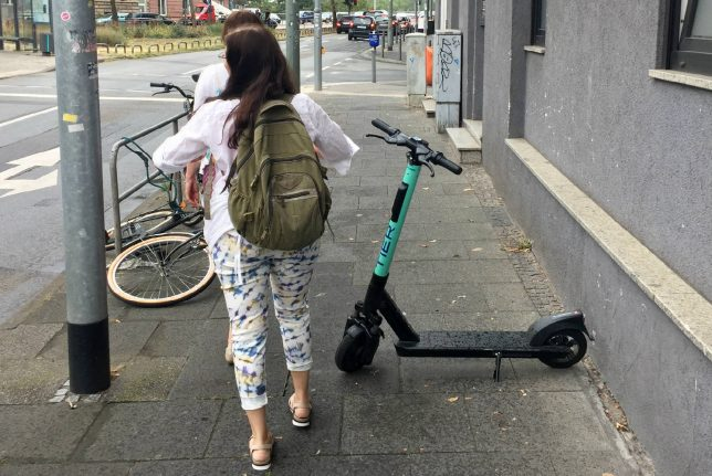 Parking bans and restricted zones: How German cities plan to crack down on e-scooters