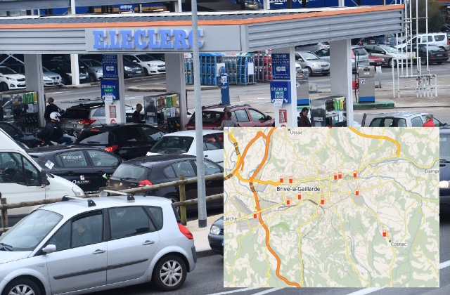 MAP: Where to find the cheapest fuel when you're driving in France