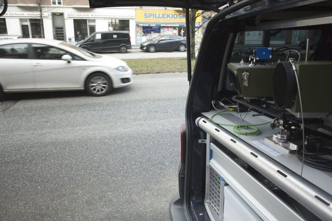 Danish police announce major speed checks on country's roads