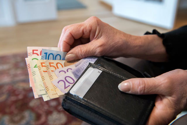Cash boost: 850,000 people in Sweden are in line for a tax cut