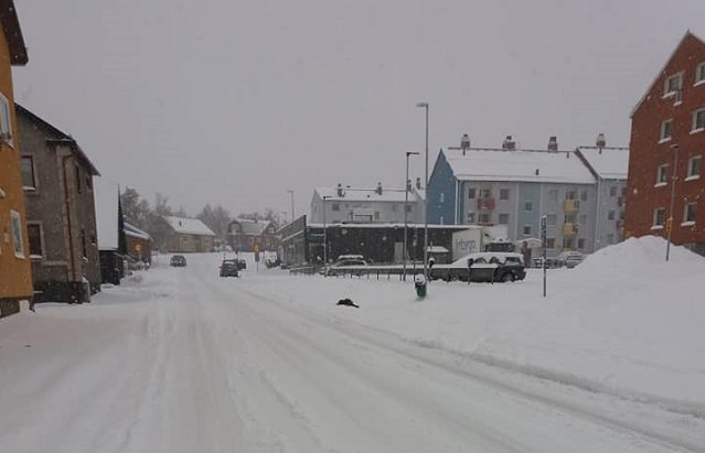 Weather warnings issued for snow in northern Sweden