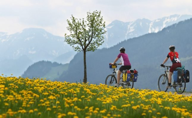 'If we have an engine, they respect us less': How e-bikes are shaking up the Bavarian Alps