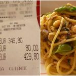 Rip-off in Rome: Japanese tourists slapped with €430 bill for fish and spaghetti