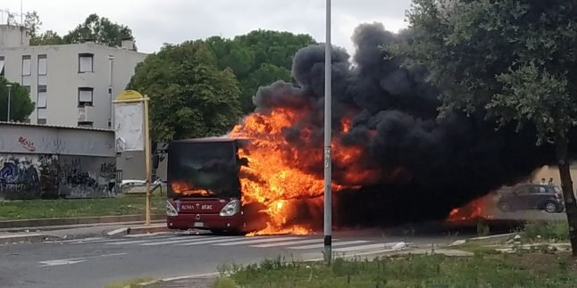 UPDATED: Two bus fires bring Rome's total to 24 this year