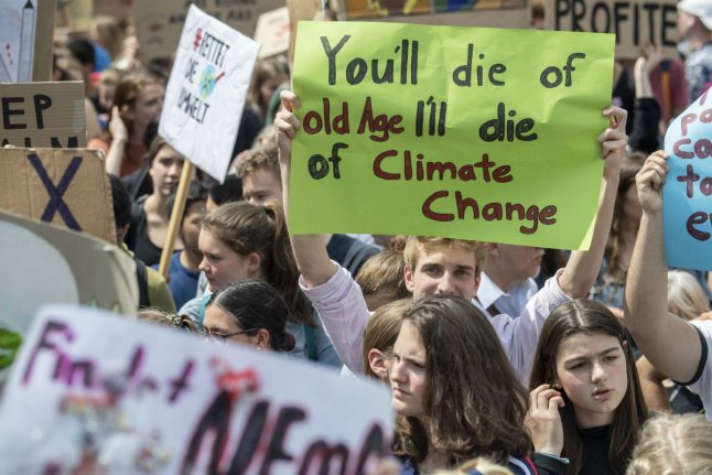 Germany pledges €100 billion in the fight against climate change