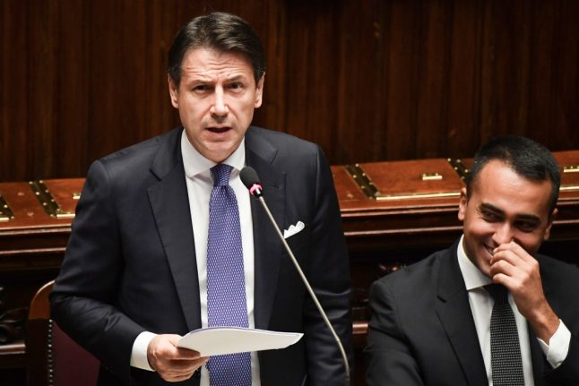 Italy's prime minister calls for reform of EU spending rules