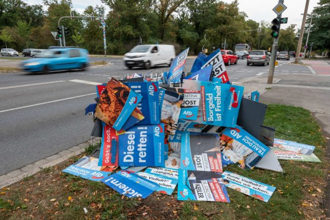 Germany's CDU rules out coalition with far-right AfD