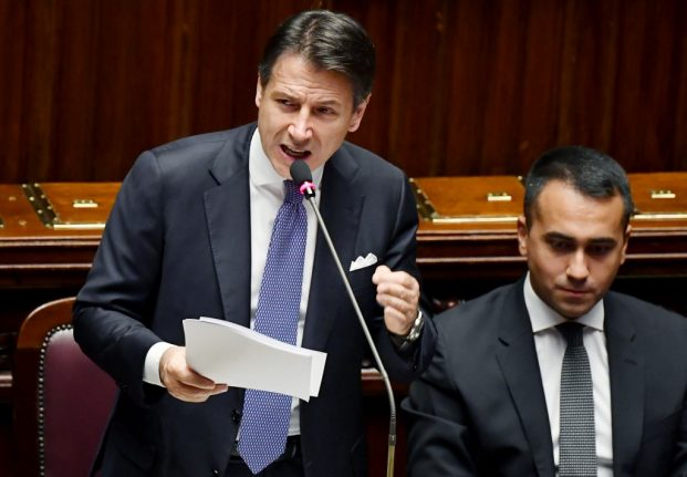 Here are the main things Italy's prime minister says his government will do