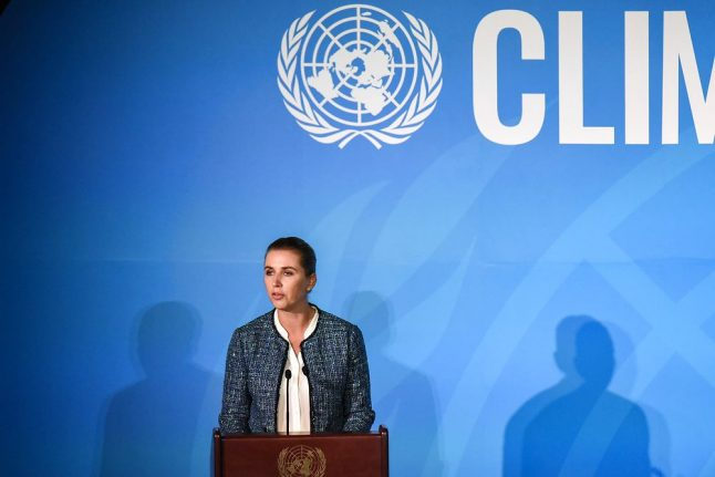 Danish PM calls climate change 'greatest challenge of our time' at UN summit