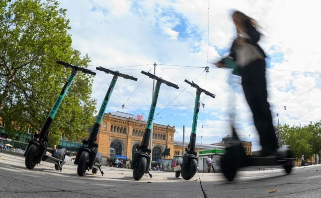 'Just too dangerous': Medical chief says Germany should ban electric scooters