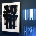 France's 'painter of black': Soulages exhibition opens in New York
