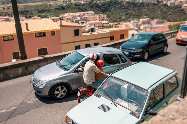 Italian roads 'more dangerous in north than south': study