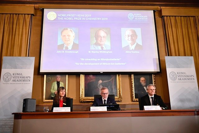 Nobel Prize in Chemistry awarded for research on lithium batteries