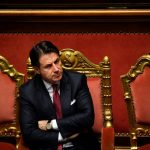 Why is Italian PM Conte being accused of a conflict of interest?