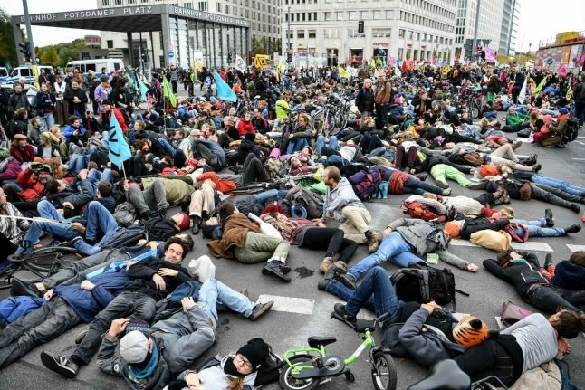 How Extinction Rebellion is training up budding climate activists in Berlin