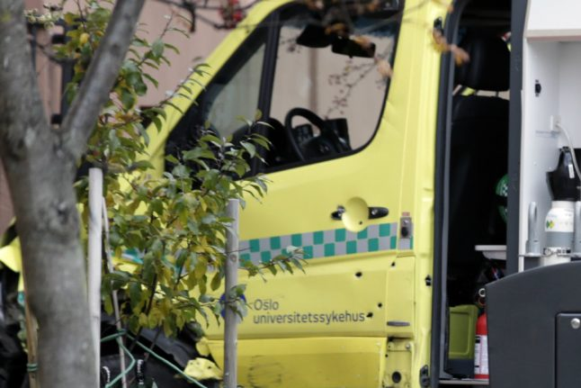 Norway ambulance hijacker charged with attempted murder